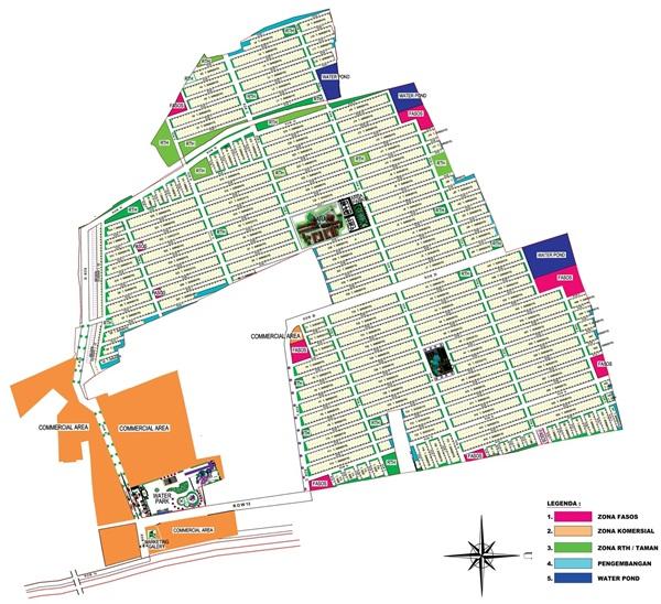 siteplan grand cikarang city 2